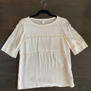 Club Monaco Detailed Blouse - Size Small